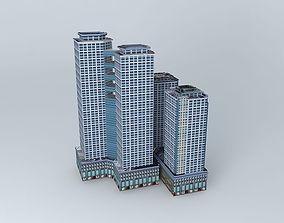 3D model Time Square