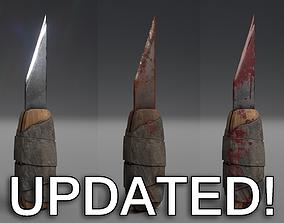 3D asset Prison shank - 3 texture styles Updated