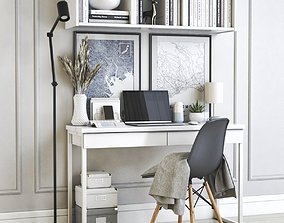Office workplace 40 3D