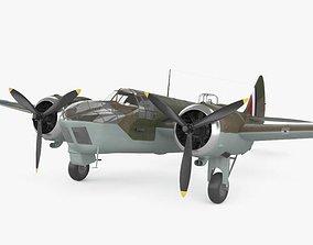 3D model Bristol Blenheim