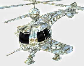 3D model Drone Copter Concept