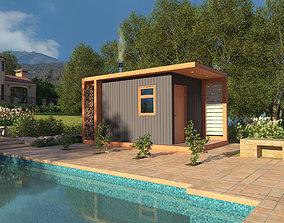 Bathhouse 3D model