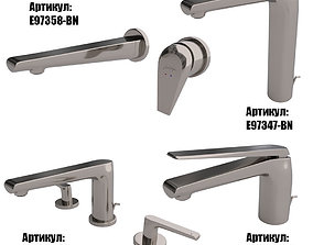 Faucets Jacob Delafon AVID collection 3D faucets