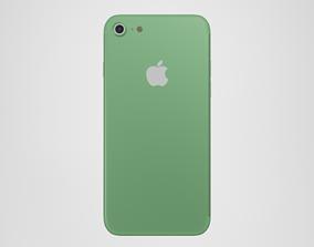 iPhone 7 - Green 3D model