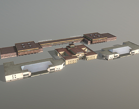 3D model Airport Terminal ULLI Terminal Pulkovo2