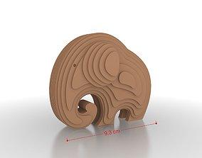Elephant 3D Print Model games