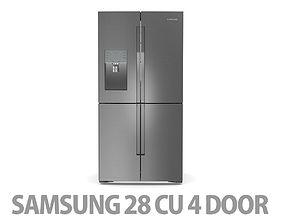 3D 28 cu ft 4 Door Refrigerator