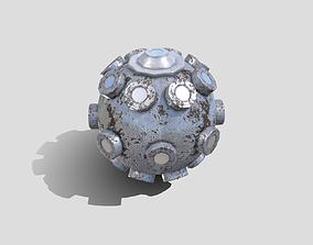 3D model Fortnite Bomb