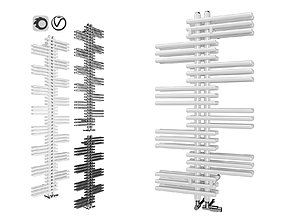 3D asset Zehnder Yucca 2 Towel Rail