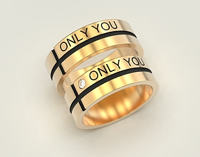 3D print model Wedding ring Only you
