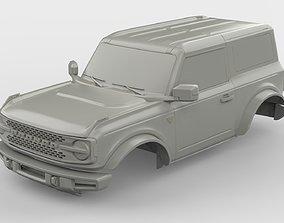 2021 Ford Bronco 2-door print ready vehicles