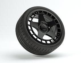 3D model Fifteen52 Turbomac 18in rim