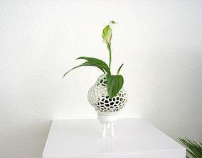 Mini Plant Space Rocket with Pot 3D printable model