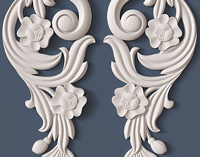 wall 3D Decorative Scroll