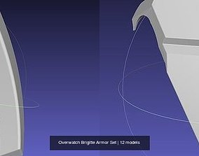 Overwatch Brigitte Armor Set 3D model