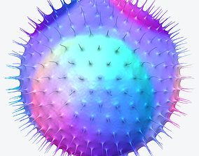 Virus 3D Model human