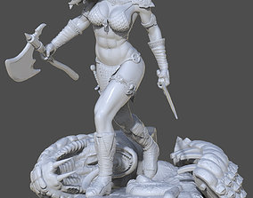 Fan Art - Red Sonja 3D print model