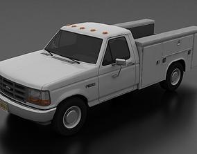 3D model F-350 1992-1997 Service Utility Truck