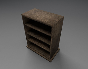 3D model Low poly bookstand