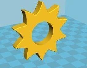 3D Gear Spinner