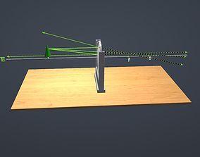 3D model Convex mirror drawing
