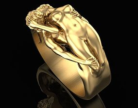Ring Love caresses 3D print model