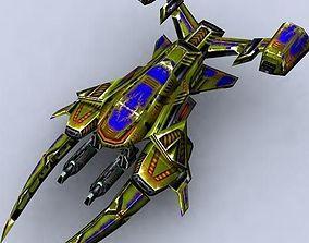 low-poly 3DRT - Sci-Fi Fighters Fleet - Fighter 8
