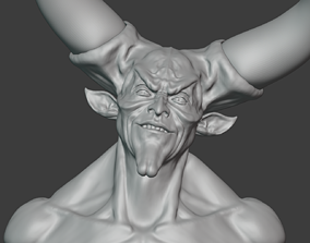 Lord of Darkness Bust 3D print model