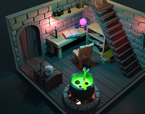 3D model Witch house