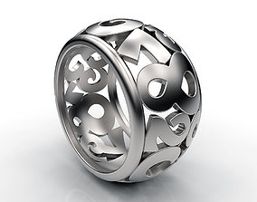3D print model Ring Digital