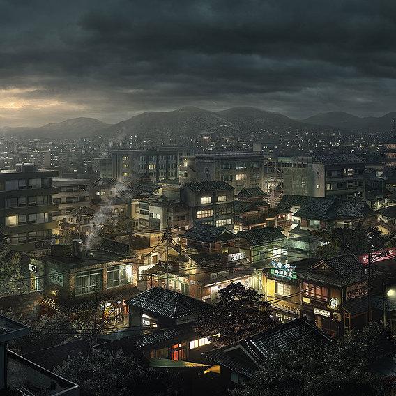 Blood the last vampire/ Establishing Tokyo