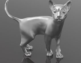 Cats model for 3d printing