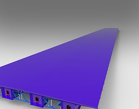 Steel brige 3D model