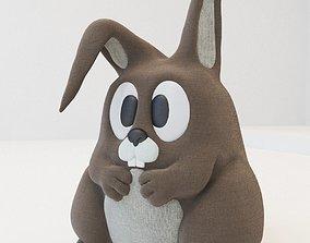 3D Rabbit Toy - Mony Bunny