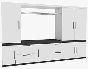Wardrobe 3D cabinets furniture