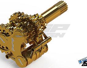 PINKI transmissiondesigned by upi 3D