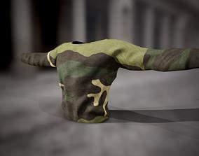 Sweatshirt 8 3D asset