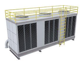 Rooftop Cooling Unit 1 3D model
