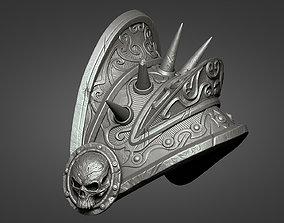 Lich King Armor - Left shoulder 3D print model