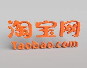 Taobao Logo 3D model