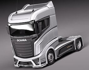 3D Scania R1000 2014 Vehicle