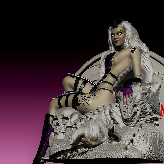 Sindel Mortal Kombat Fan made