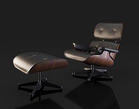 Lounge armchair texture 3D model