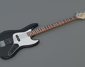 Bas-guitar 3D asset