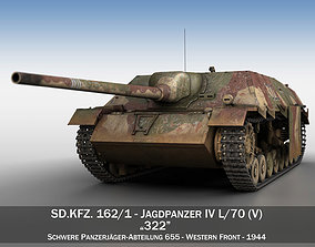 Jagdpanzer IV - L70V - 322 - Late Production 3D