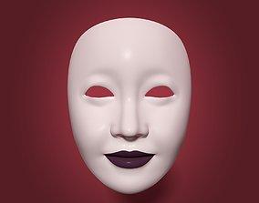 Woman Mask 3D asset