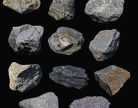3D model Rock Collection 01