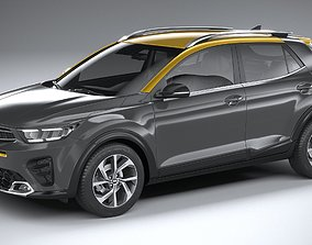 3D model Kia Stonic GT-Line 2021