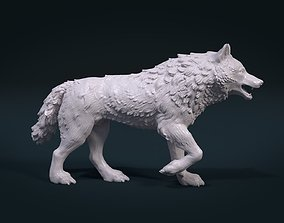 3D print model figurines Wolf figure