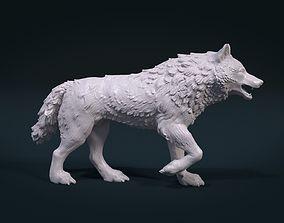 3D print model figurines Wolf figure